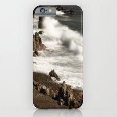Ocean Waves and Rocks Slim Case iPhone 6s