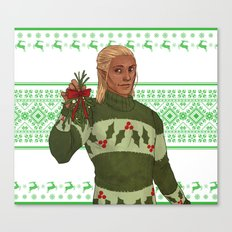 Very Merry Zevran Canvas Print
