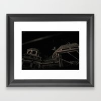 Abandoned Atrium Framed Art Print