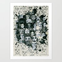 The Elected Ones Art Print