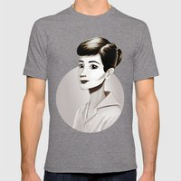 Hepburn Mens Fitted Tee Tri-Grey SMALL