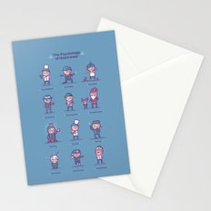 Psychology of headwear Stationery Cards