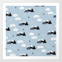 Cool Winter Wonderland S… Art Print