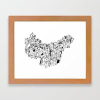 CONFLICTS Framed Art Print