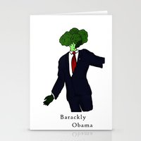 Barackly Obama Stationery Cards