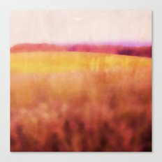 Pink Meadow Canvas Print