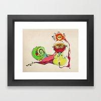 Buho Framed Art Print