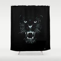 Beast Shower Curtain