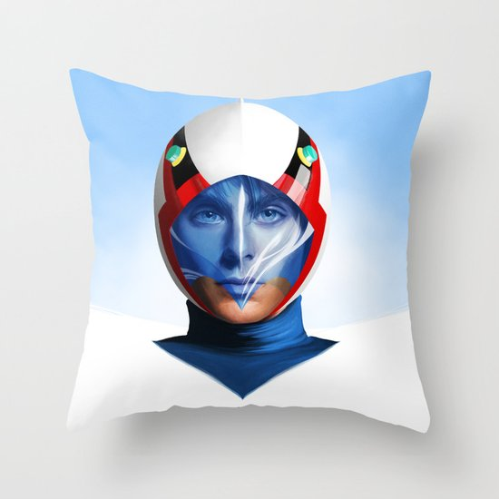 ACE GOODHEART Throw Pillow