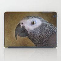 African grey parrot iPad Case