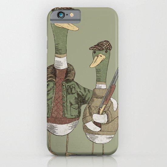 Hunting Ducks iPhone & iPod Case