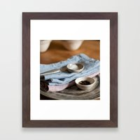Salt&Pepper Framed Art Print