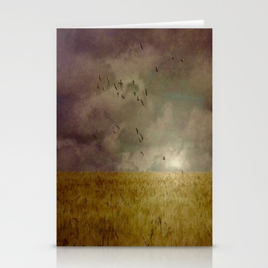 When we walked in fields of gold Stationery Card