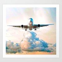 The Marvel Of Flight Art Print