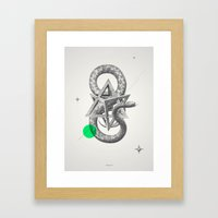 Archetypes Series: Rebirth Framed Art Print