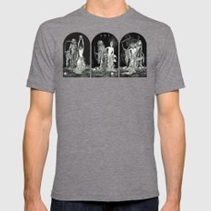 Death And The Maiden Tri… Mens Fitted Tee Tri-Grey SMALL
