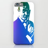 iPhone & iPod Case featuring James Bond - True Blue by D77 The DigArtisT