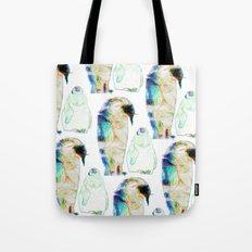 Remix Emperor Penguins Tote Bag