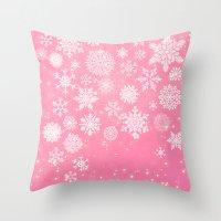 Let It Snow - Let It Sno… Throw Pillow
