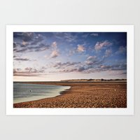 Off To The Beach Art Print