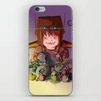 EL DESTRUCTOR iPhone & iPod Skin