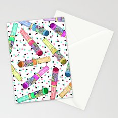 Retro 80's 90's Neon Colorful Push Candy Pop Stationery Cards