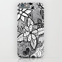 iPhone & iPod Case featuring Flowers by Claudia C