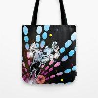 Cosmic Sentinel Tote Bag
