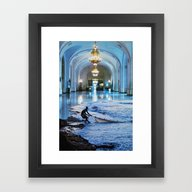 Undertow Hall Framed Art Print