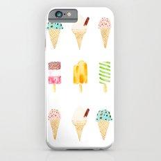 ice cream selection iPhone 6 Slim Case