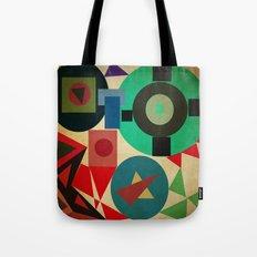 geometric mess Tote Bag