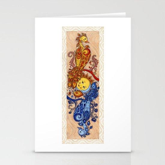 Carpe Diem, Carpe Noctem Stationery Card
