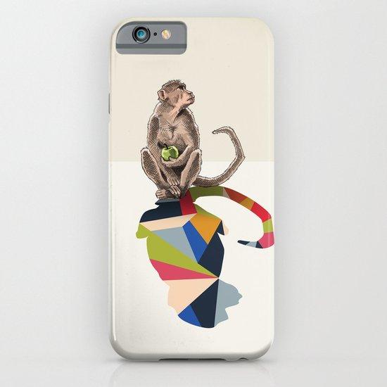 Walking Shadow, Monkey iPhone & iPod Case