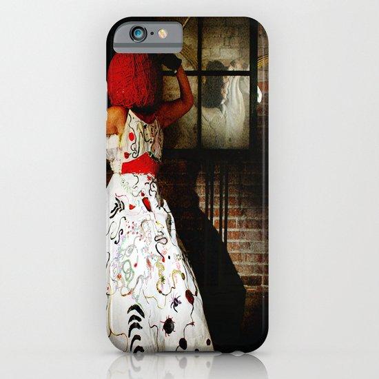 """Little Miss Redhead"" iPhone & iPod Case"