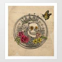 The Eternal Queen Art Print