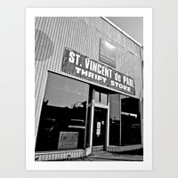 Art Print featuring Vinnie was here by Vorona Photography