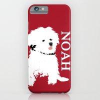 Bichon Frise Dog art iPhone 6 Slim Case