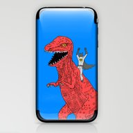 Dinosaur B Forever iPhone & iPod Skin