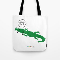 Crocodile Float Tote Bag