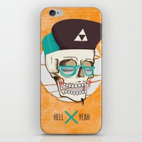 Hell Yeah Skull iPhone & iPod Skin