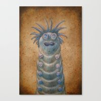 Medieval monster XVIII Canvas Print