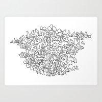Herd Art Print