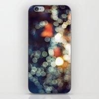 Bokeh Nights iPhone & iPod Skin