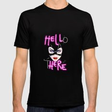 Hell Here! Catwoman Mens Fitted Tee Black SMALL
