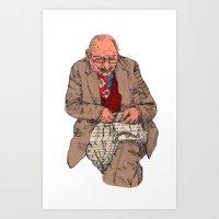 The Waistcoat Maker Art Print