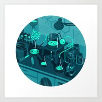 The Lab Art Print