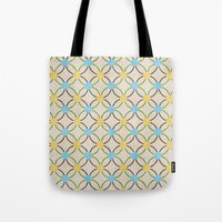 English Country Pattern. Tote Bag