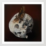 Art Print featuring Acherontia  by Kit King & Oda
