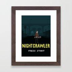 Nightcrawler - The Video Game Framed Art Print