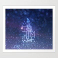 All to Him I owe Art Print